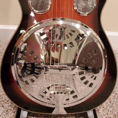 Gold Tone PBR-CA Paul Beard Round Neck w Cutaway, Electronics and OHSC