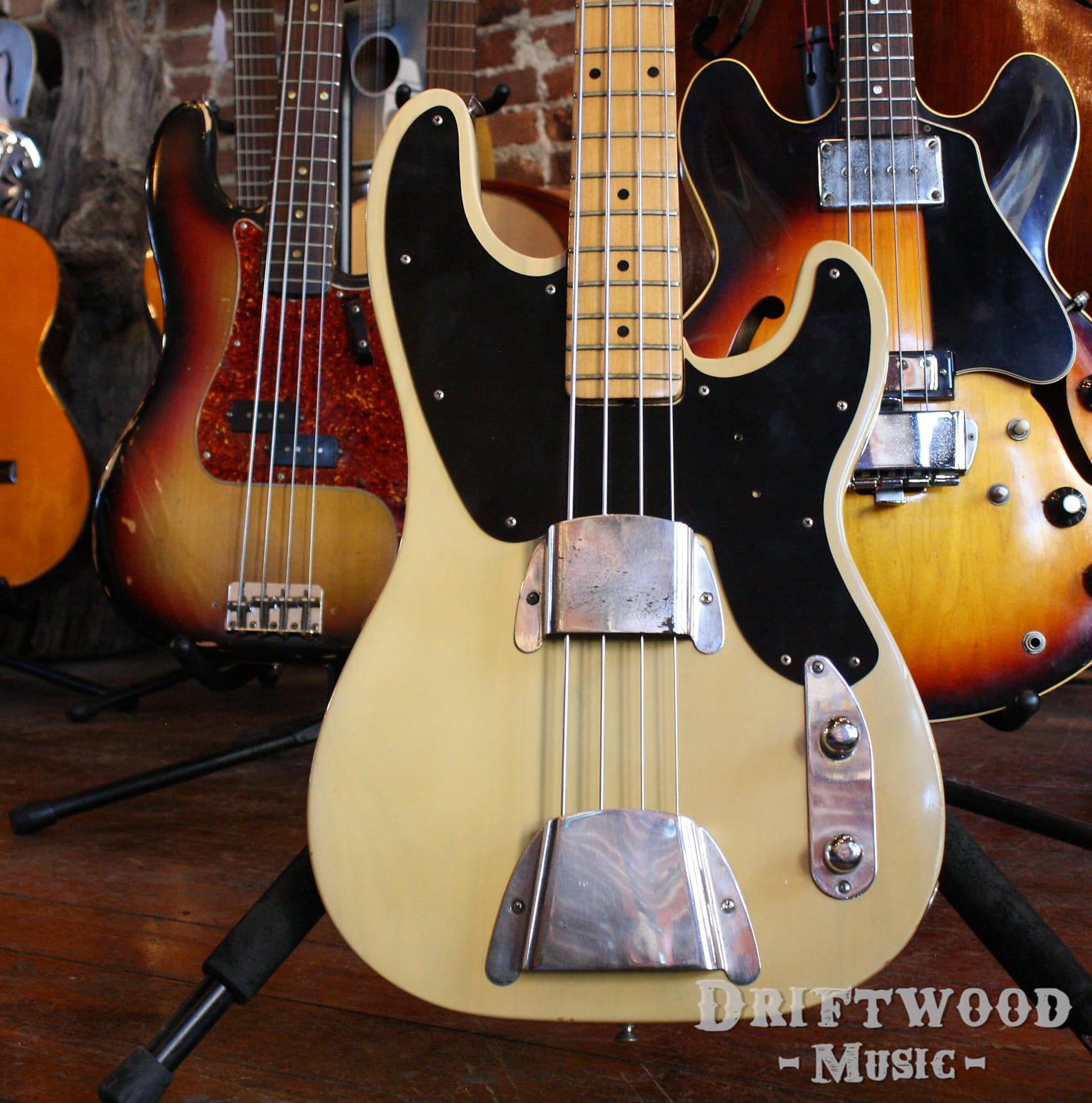 Fender P-Bass 1953 Blonde Refin