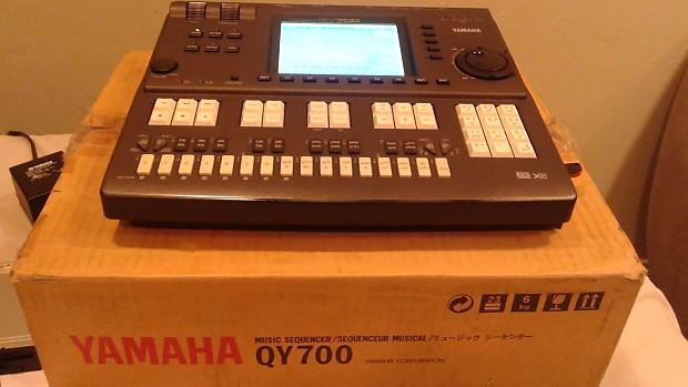 yamaha qy700. yamaha qy700 sequencer synth w/ usb floppy emulator qy700 t