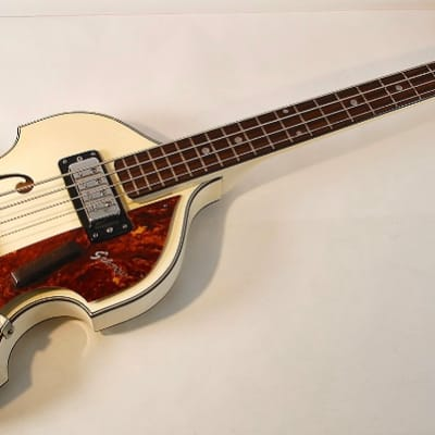 Sekova VB 500 1973 White Beatle Bass for sale