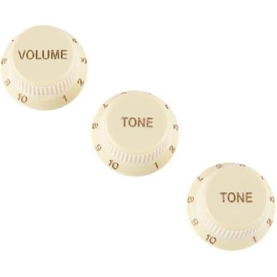 Fender Soft Touch Stratocaster Knobs Set Aged White 0992008000