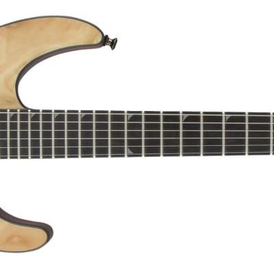 Demo - Jackson Pro Series Soloist SL2P Mahogany Body Poplar Burl Top