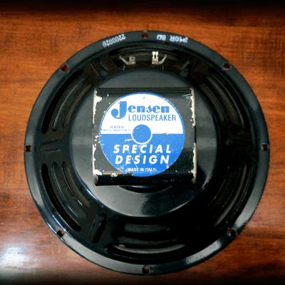 "Jensen P10Q 10"" Inch 8 Ohm 2000 Blue Speaker Fender Bassman Amplifier"