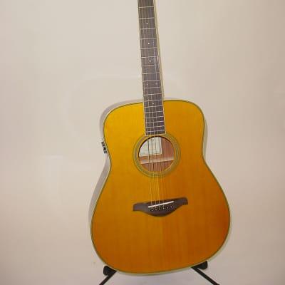Yamaha FG-TA Acoustic/Electric Guitar, Vintage Tint Finish