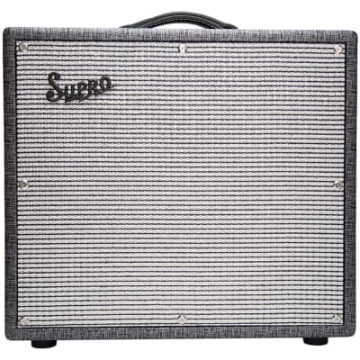 OPEN BOX Supro 1695T Black Magick 25W 1x12 Jimmy Page 2Ch Combo Guitar Amplifier