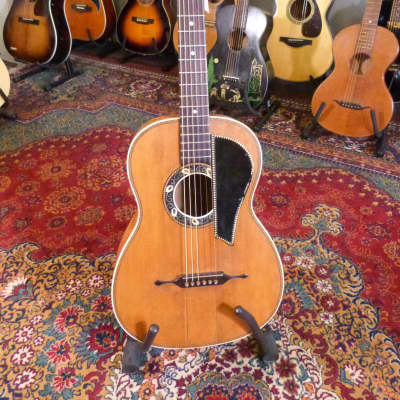 Unknown Early 1900's German Ornate Parlour Guitar for sale