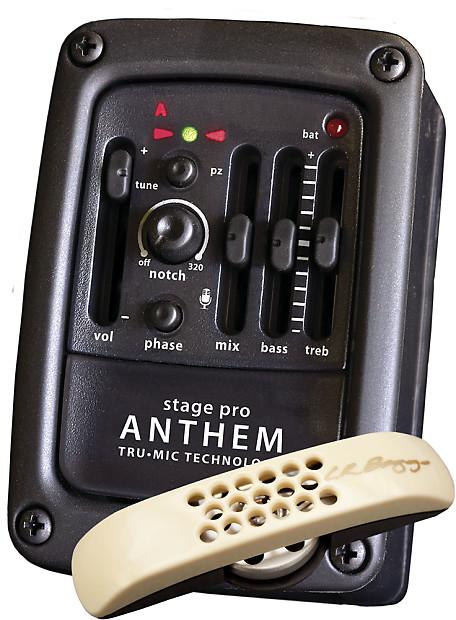lr baggs stagepro anthem onboard guitar microphone system reverb. Black Bedroom Furniture Sets. Home Design Ideas