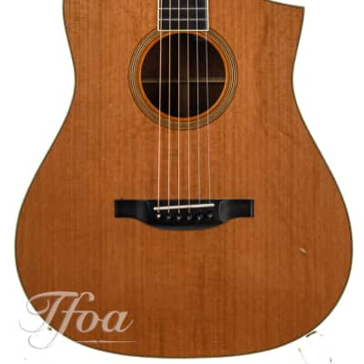 Bourgeois Martin Simpson Signature  Cedar Quilted Mahogany 1997 for sale