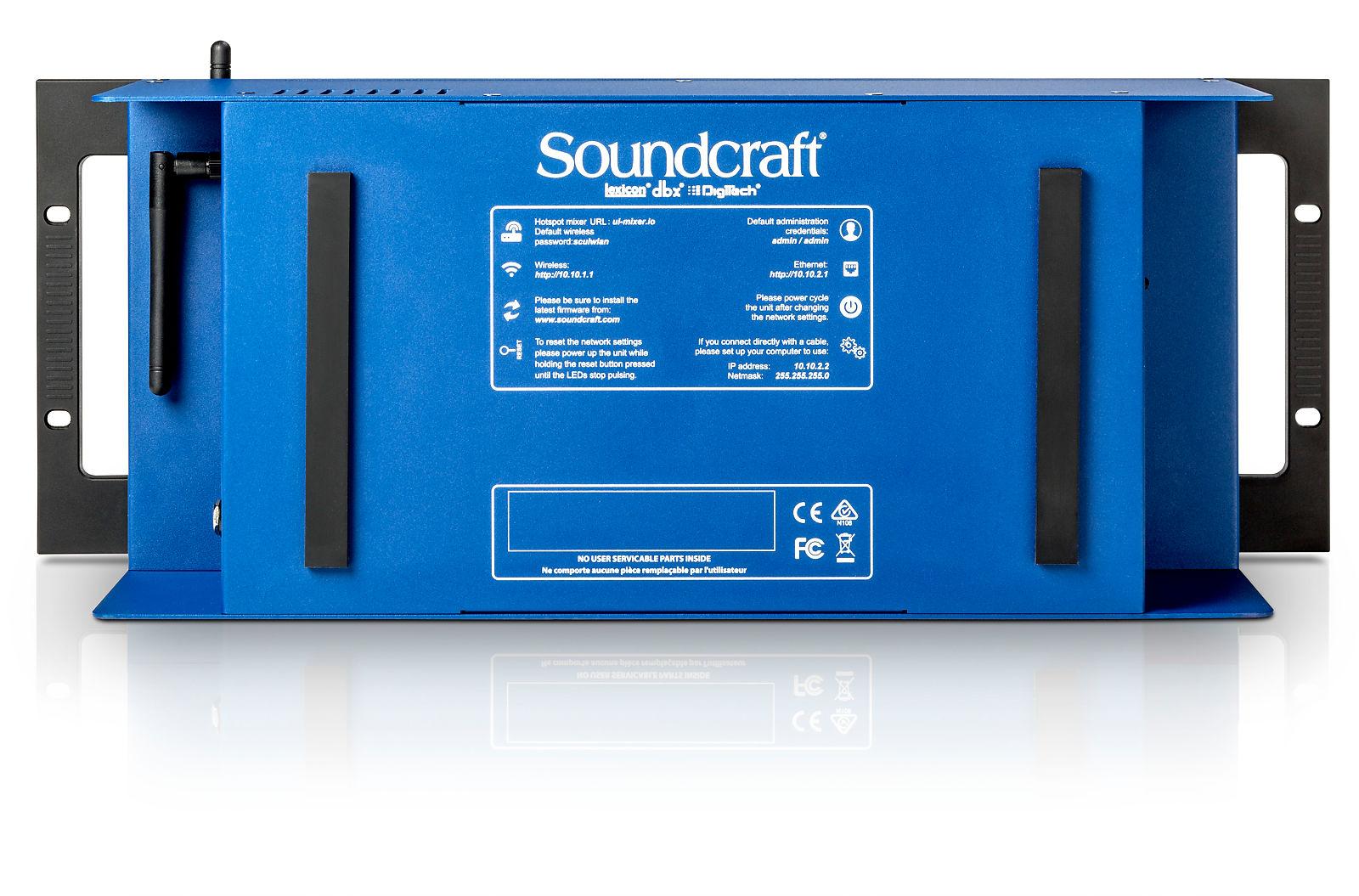Soundcraft Ui24r Digital Mixer +Free AKG P5i Mic - NEW Authorized Dealer - NEXT DAY AIR Ship to USA!