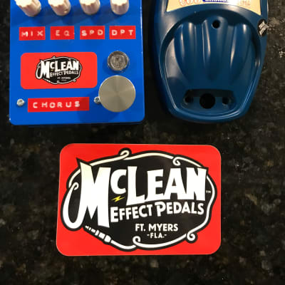 Danelectro Cool Cat Chorus *Rehouse* (Service by McLean Effect Pedals)