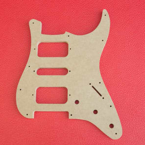 fender stratocaster h-s-h pickguard guitar router template - 8 and 11 hole  1/2