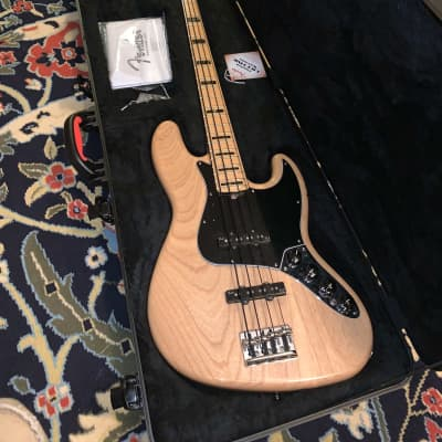 Fender American Deluxe Jazz Bass Ash with Maple Fretboard 2013 Ash with Maple Fretboard for sale