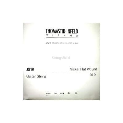 Thomastik Infeld JS19 Nickel Flatwound 019 Single String 019