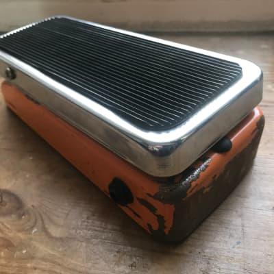 Vintage rare Colorsound Fuzz wah guitar effect pedal 1970s 1973 for sale