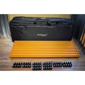 Aclam Guitars Smart Track L2 Pedalboard & L2 Gig Bag STL2SCO Orange