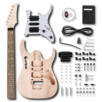 Leo Jaymz DIY Electric Guitar Kits in IBZ Style - Guarantee delivery within 3-5 days - Free Shipping