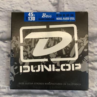 Dunlop Nickel Plated Steel Medium 5-String 45-130 Bass Strings