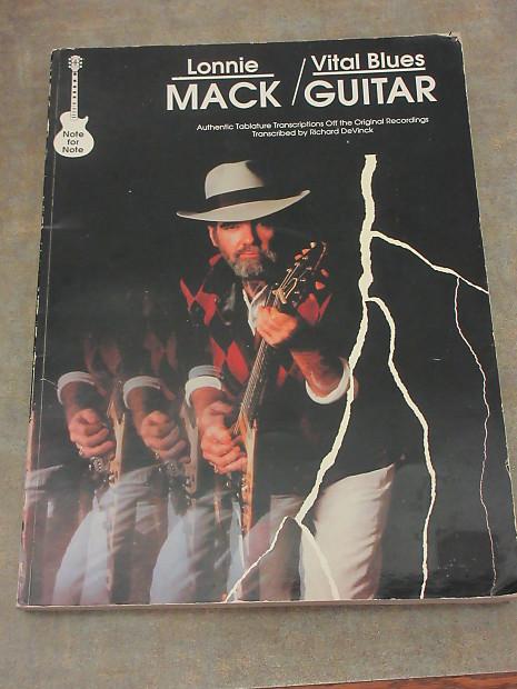 Lonnie Mack - Vital Blues Guitar Tablature book