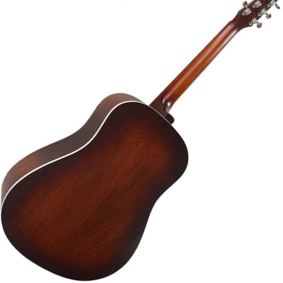 Seagull 041817 Maritime SWS Mahogany Burnt Umber GT QIT Acoustic Electric Guitar