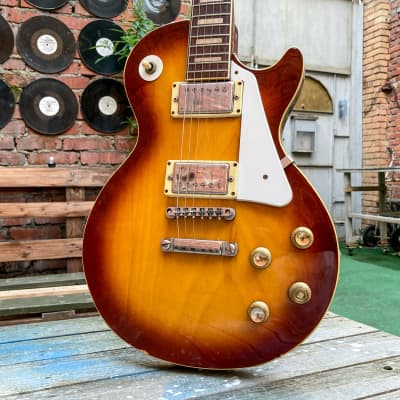Japan Vintage LP Single cut Fresher 1977 Sunburst for sale