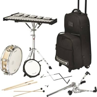 """Ludwig LE2482R 3.5x13"""" Snare / Bells Percussion Kit"""