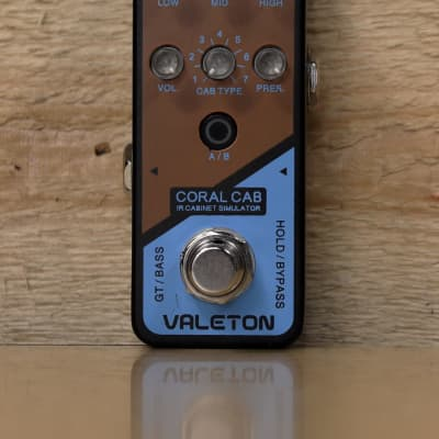 Valeton Coral Cab IR Cabinet Simulator Pedal