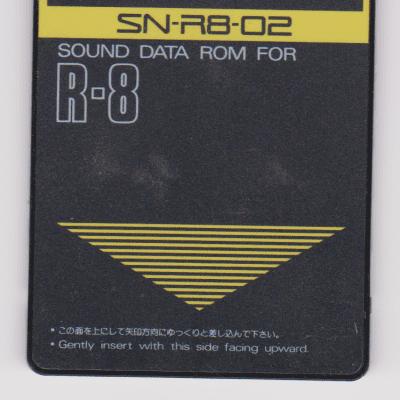 Roland SN-R8-02 Jazz Brush R-8 Expansion Card
