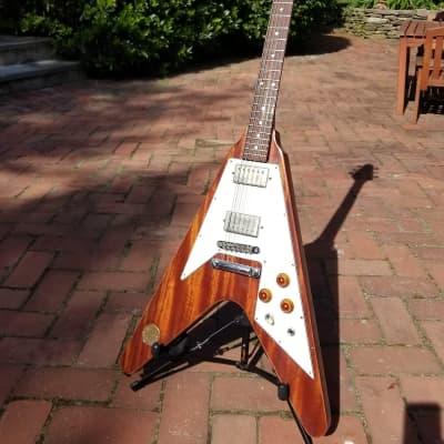 Vintage 70s Ibanez Medallion Flying V Gibson copy - lawsuit era MIJ - Rocket Roll- Recent Repairs And Setup for sale