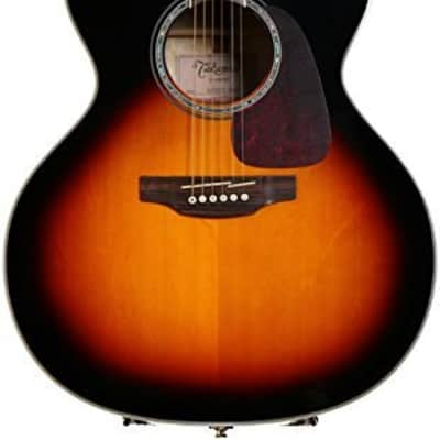 Takamine GJ72CE BSB G70 Series Jumbo Cutaway Acoustic/Electric Guitar Gloss Brown Sunburst