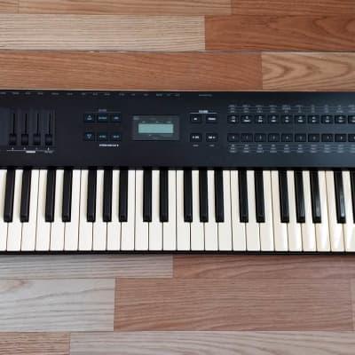 ALESIS QS7 64 Voice Expandable Synthesizer 76 keys + CD w/soft & Q-Cards images