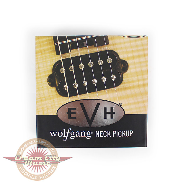 Evh Wolfgang Neck Humbucker Pickup In Black