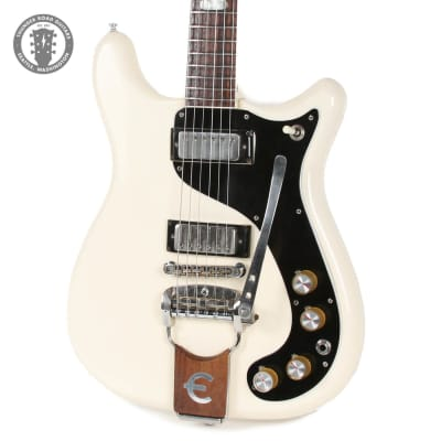 1965 Epiphone Crestwood Custom in Polaris White for sale