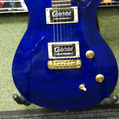 Crafter Convoy DX in trans blue finish made in Korea for sale