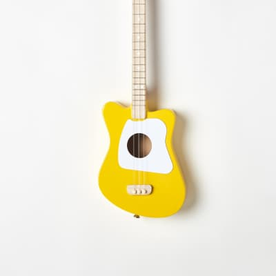 Loog Mini 3-Strings Acoustic Guitar for Childrens and Beginners with Loog Guitar app (iOS & Android) for sale