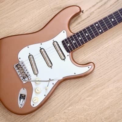 1989 Fender Stratocaster '62 Vintage Reissue w/ Danelectro Lipstick Pickups Copper Japan MIJ Fujigen for sale