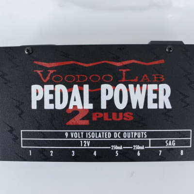 Voodoo Lab Pedal Power 2 Plus w/ Temple Audio Mounting Brackets
