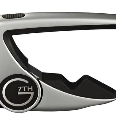 G7th Performance 2 Acoustic Guitar Capo - Silver for sale