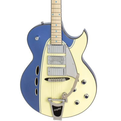 Backlund Rockerbox DLX - Blue/Creme for sale