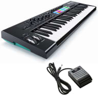 Novation Launchkey 49 Keyboard Controller BONUS PAK
