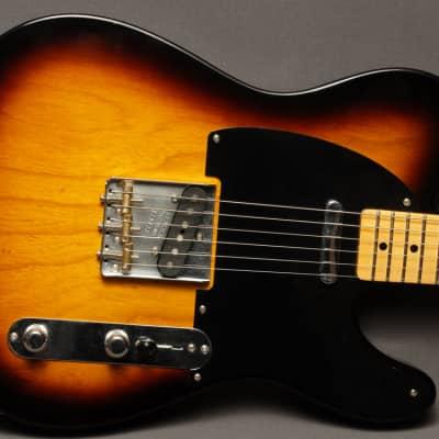 Fender Custom Shop Telecaster 1952 Lush Closet Classic  2- Tone Sunburst for sale