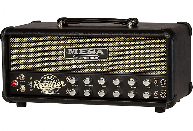 mesa boogie rectoverb 25 amplifier head humbucker music reverb. Black Bedroom Furniture Sets. Home Design Ideas