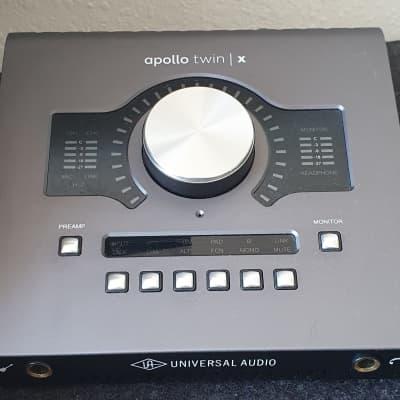 Universal Audio Apollo Twin X QUAD Thunderbolt 3 Audio Interface