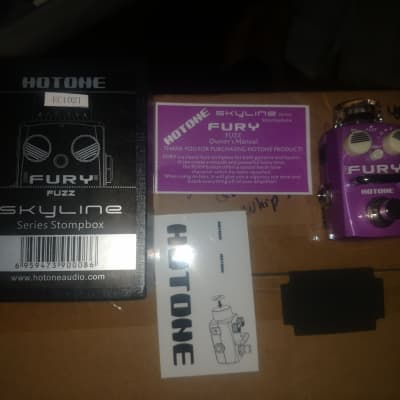 Hotone Fury Fuzz Pedal for sale