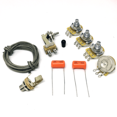 Pleasant Guitarslinger Parts Jazzmaster Wiring Kit Electronic Upgrade Reverb Wiring Digital Resources Arguphilshebarightsorg
