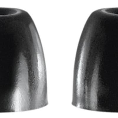 Shure EABKF1-10L Replacement Foam Sleeves for SE Series Earphones, 5 Pair, Large, Black
