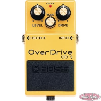Boss OD-3 Overdrive Pedal-USED