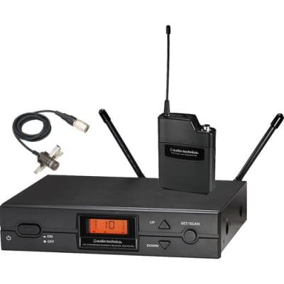 Audio-Technica ATW-2129BI  Wireless Lavalier Mic W/Free 2 Day Shipping