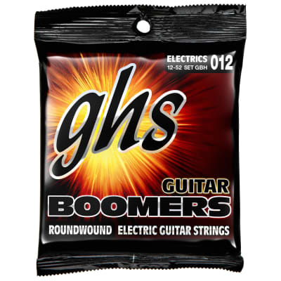 GHS GBH Boomers Heavy 12-52 Nickel-Plated Roundwound Electric Guitar Strings for sale