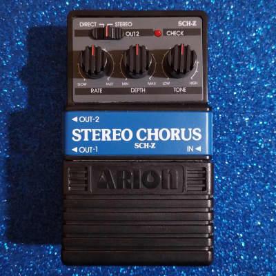 Arion SCH-Z Stereo Chorus w/box & catalog for sale