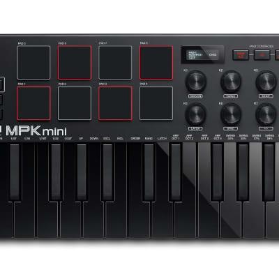 Akai MPK Mini MK3 Keyboard Controller - Black